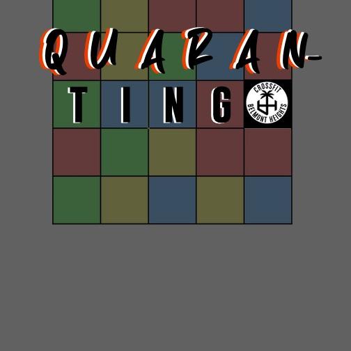 QUARANTINGO:                       A CFBH Bingo-style Game